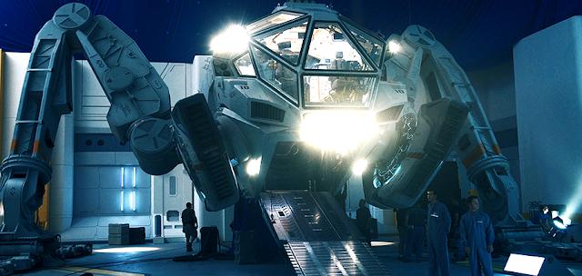 Una din maşinăriile bazate pe tehnologie extraterestră din Independence Day Resurgence