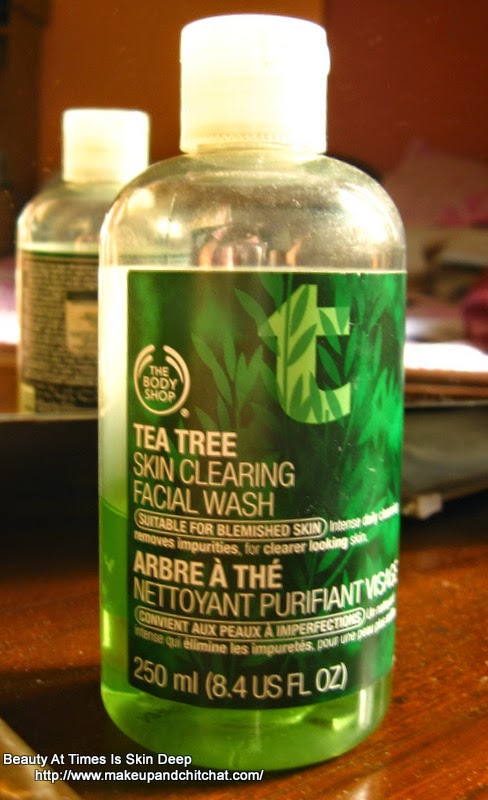 The Body Shop tea Tree Face Wash for Oily skin