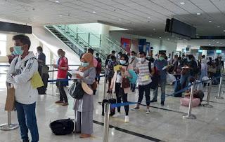 Lagi,  Malaysia Deportasi 23 TKI Ilegal Melalui Bandara Kualanamu