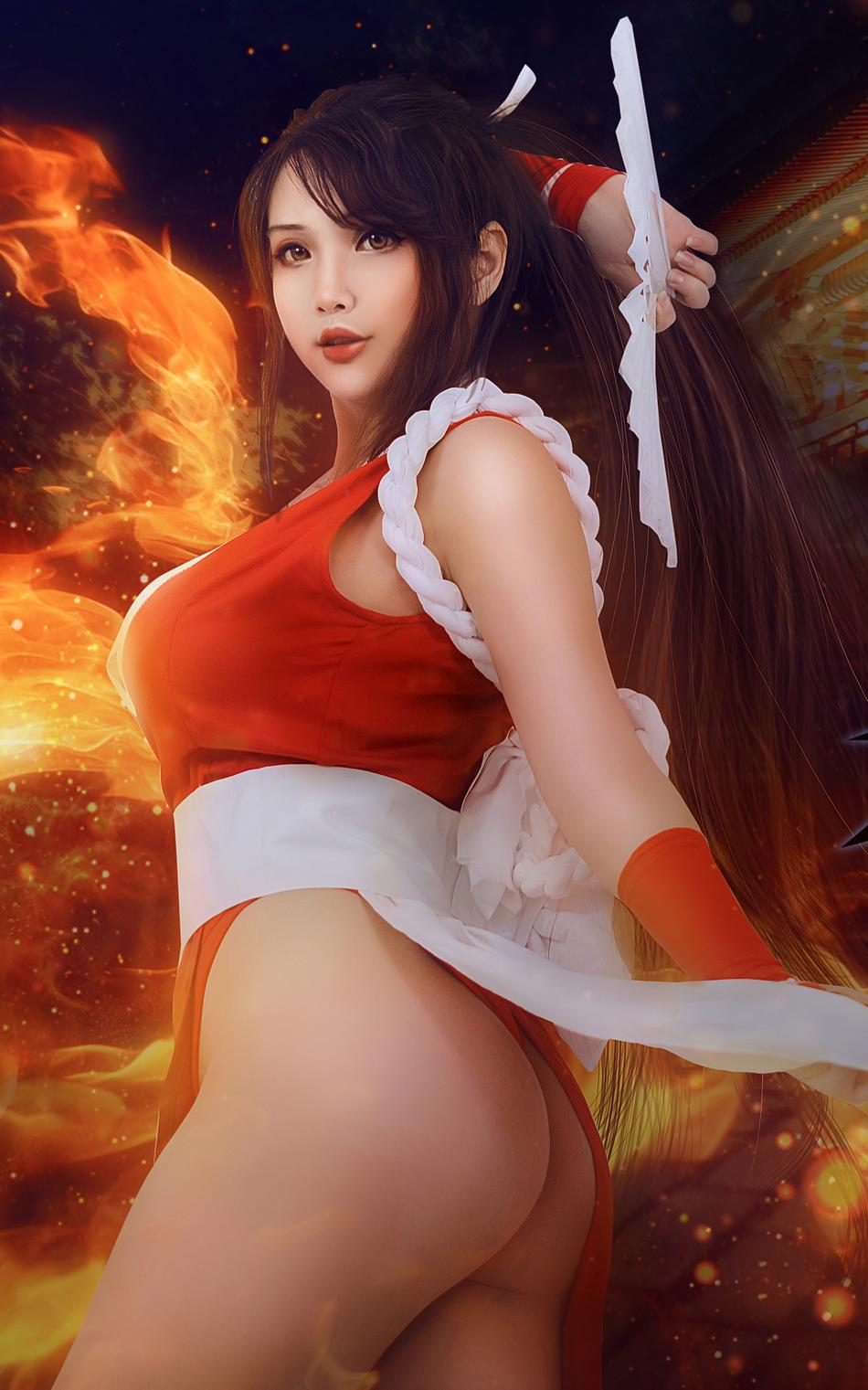 best mai shiranui dead or alive cosplay