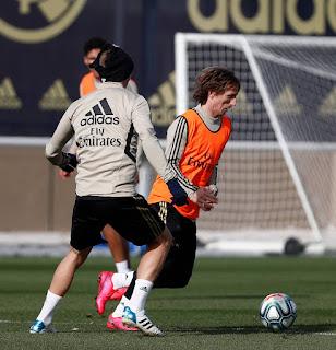 El equipo blanco ya piensa en el Valladolid