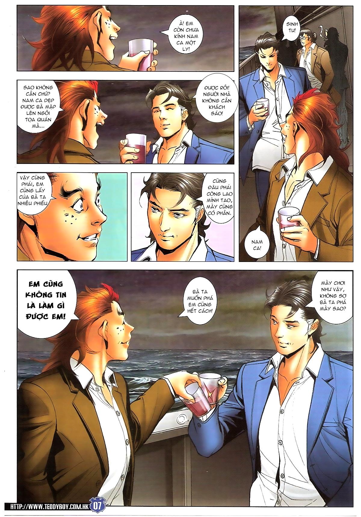 Người Trong Giang Hồ chapter 1645: làm khó đại b chảy trang 5
