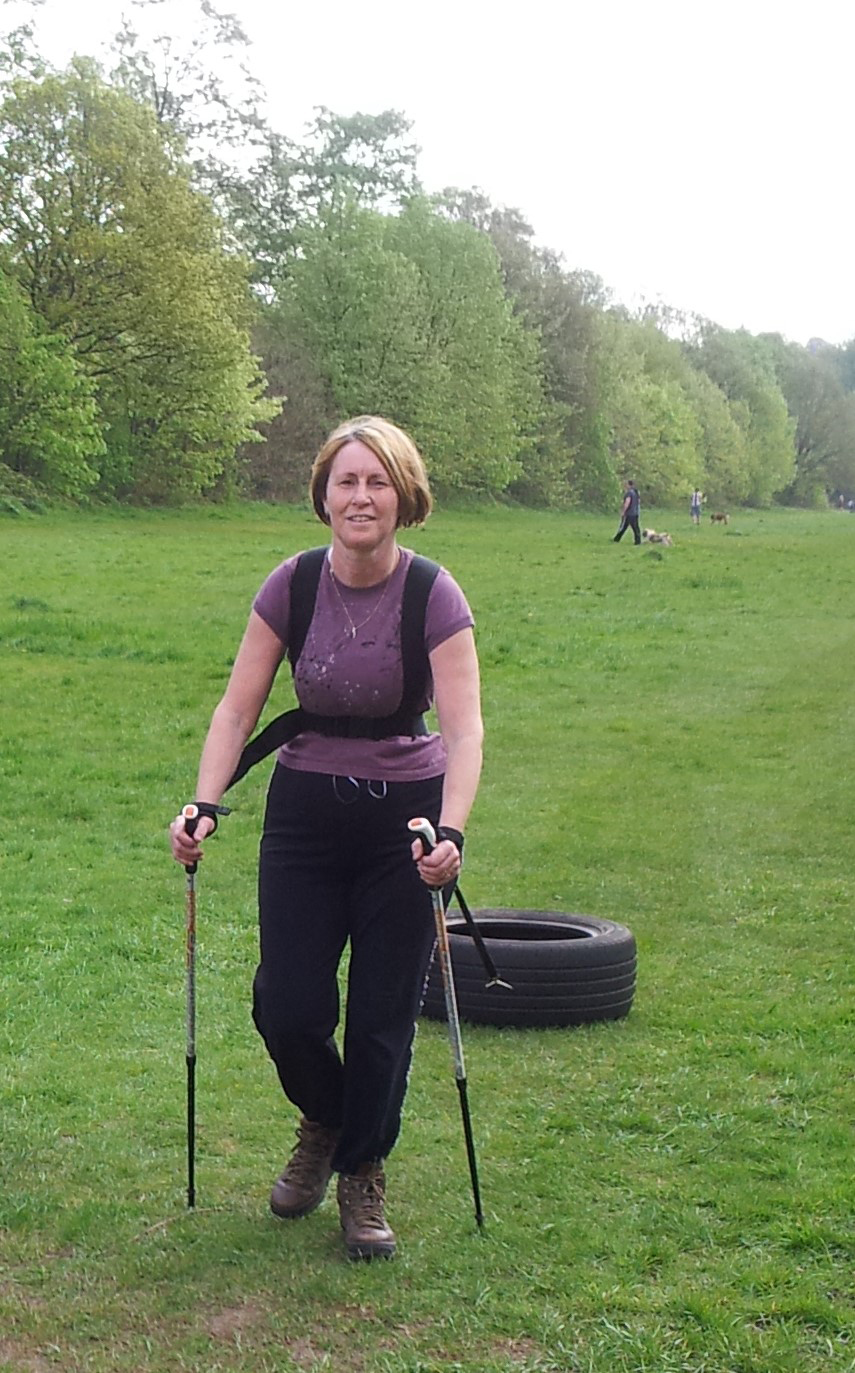 Nordic Walking in Wanstead has transformed the health of Dawn Branigan