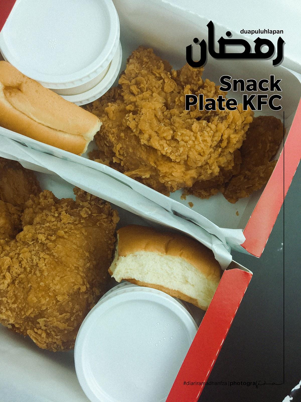 KFC Snack Plate