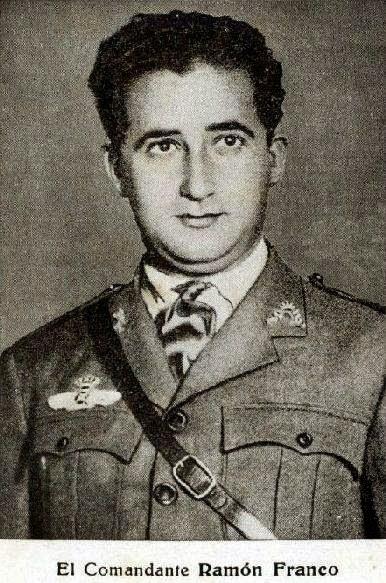 """Ramón Franco, el hermano """"descarriado"""" del dictador. Diputado de ERC y héroe de la aviación nacional"""