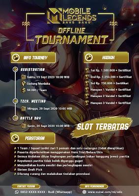 Download Mentahan Contoh Poster Turnamen Mobile Legends (ML) Versi 3