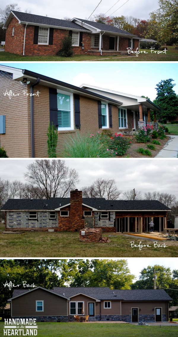 Modern Farmhouse Home Rebuild, remodeling your home, exterior
