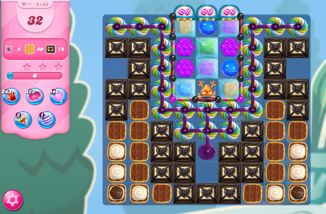 Candy Crush Saga level 8180