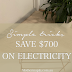 10 simple tips to save $700 on your electricity bill this winter