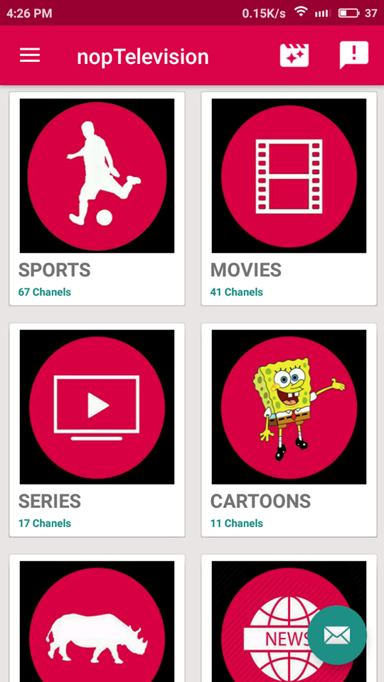 NopTelevision Apk App Free Live TV On Android & Amazon Fire