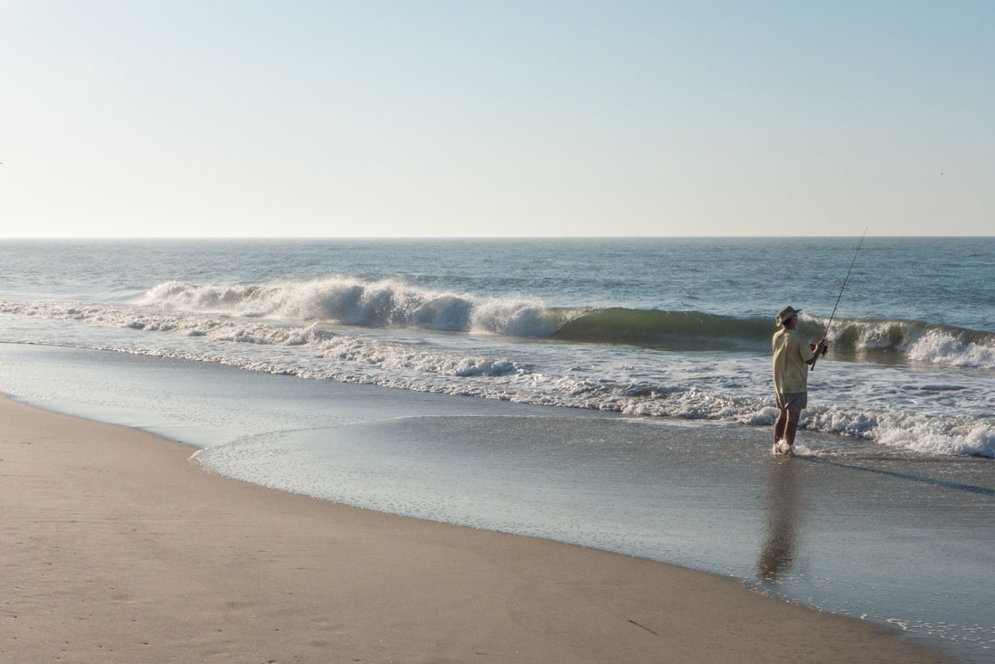Seldom seen surf fishing for Surf fishing nj