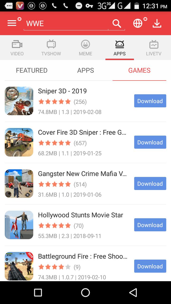 Vidmate HD Videos Downloader Version 2 58 Download Free Apk