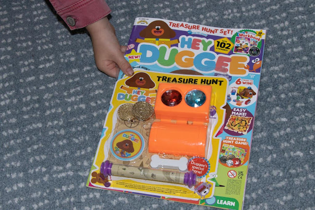 grab issue 1 of the fun to learn Hey Duggee Preschooler magazine