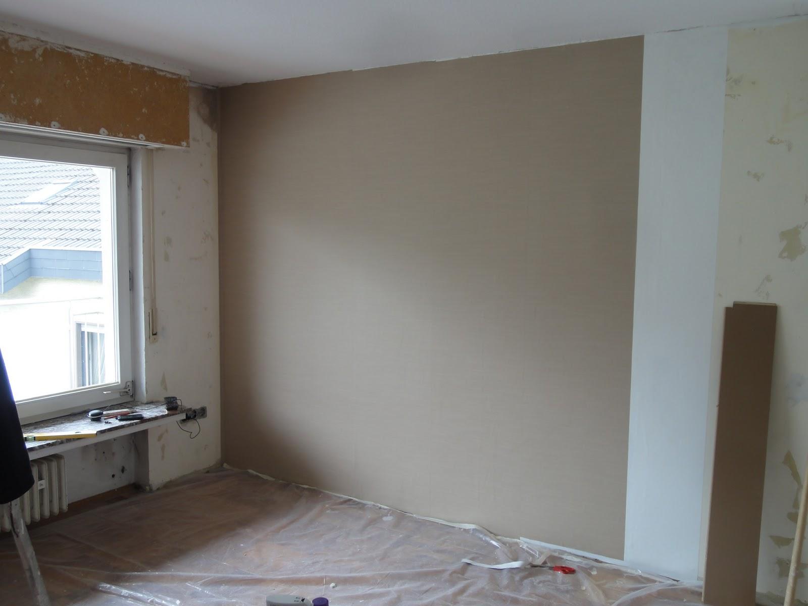 crafts & co.: unser neues heim -- tapezieren: das wohnzimmer