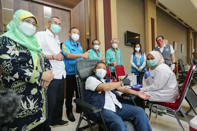 Kebutuhan Darah Meningkat, Wakil Wali Kota Bandung Ajak Warga Donor Darah