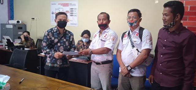 Diduga Tidak Netral, Oknum Plt. Camat Dan Kepala Desa Di Kapuas Dilaporkan Ke Bawaslu
