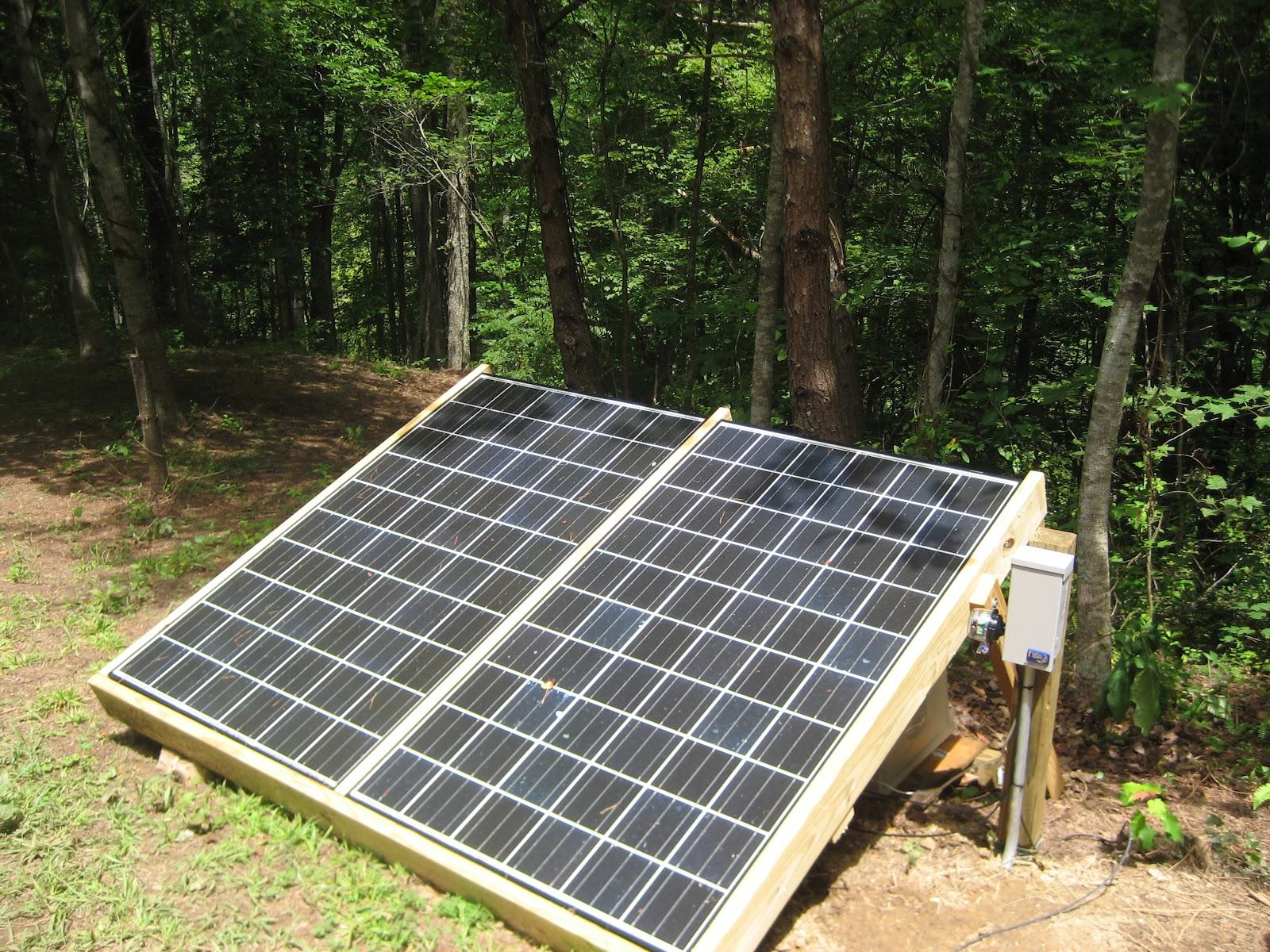 Sunny Days Solar Installation