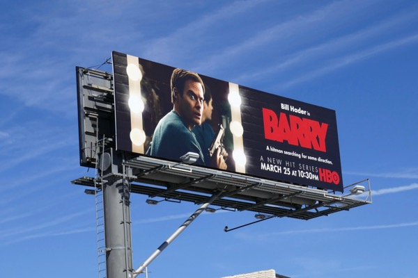 Barry series premiere billboard