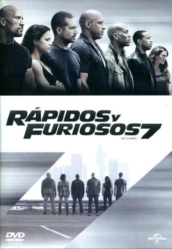 Fast & Furious 7 (2015) [Latino – Ingles] [4K-HEVC]