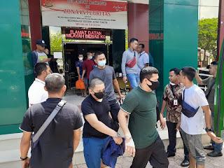 8 Tersangka Kasus 81 Kilogram Sabu Dilimpahkan ke Jaksa Aceh Timur oleh Dit Resnarkoba Polda Aceh