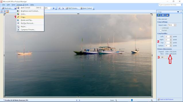 Cara Mengatur Resolusi Gambar dengan Microsoft Office Picture Manager