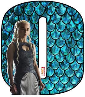 Abecedario Madre de Dragones. Mother of Dragons ABC.