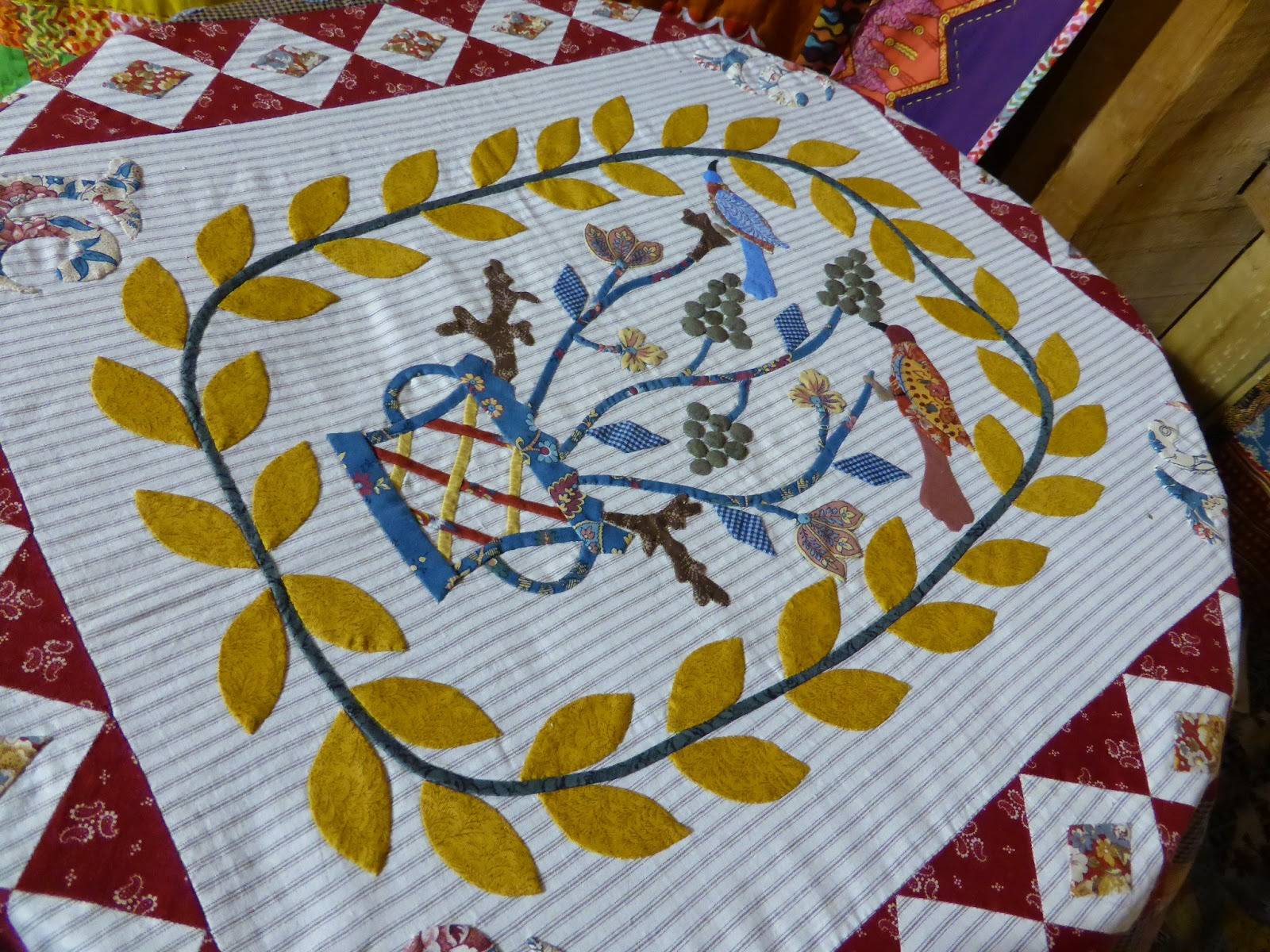 Quilts in the Barn 2015 Margaret Sampson George