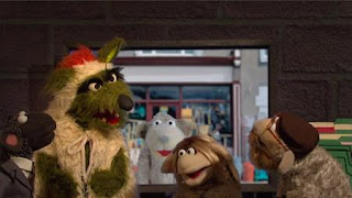 Homelamb. The sheep agents of Homelamb are looking for the Big Bad Wolf, Sesame Street Episode 4411 Count Tribute season 44