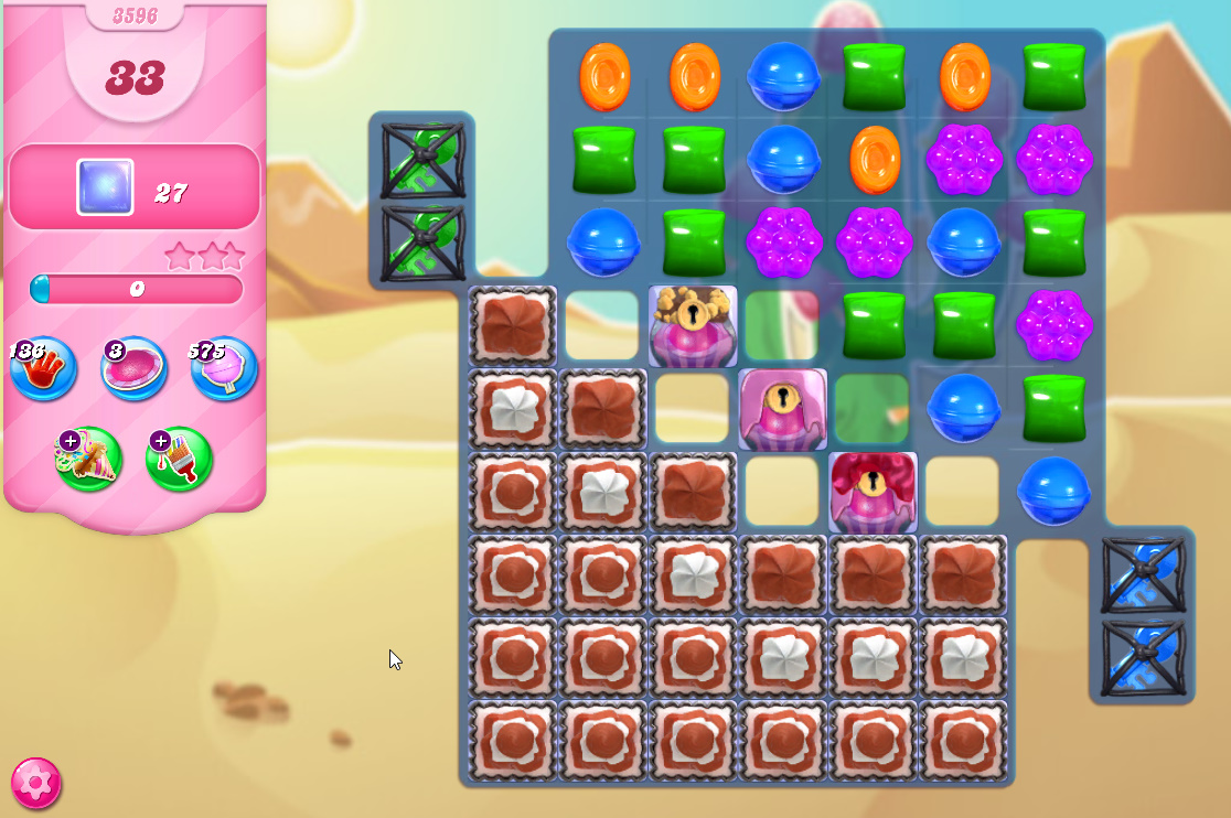 Candy Crush Saga level 3596