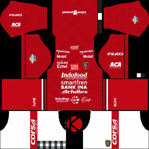 Bali United 2018 Kit Dream League Soccer Kits Kuchalana Gambar