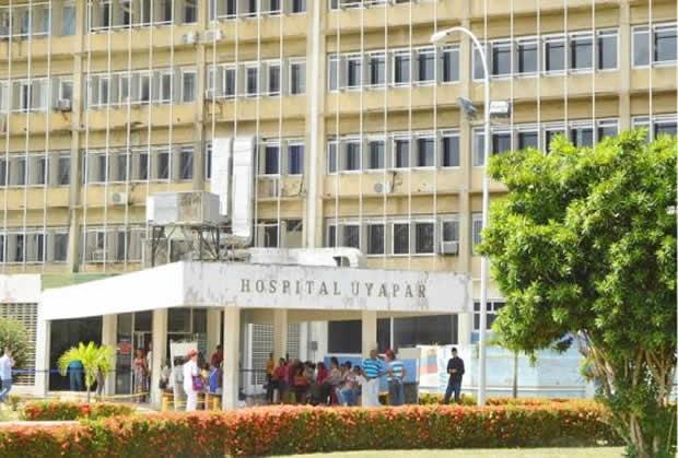 Cierran hospital Uyapar por contaminación proveniente de la morgue