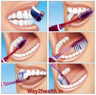 Toothbrushing steps | practice of toothbrushing to maintain good oral and dental hygiene | way2health