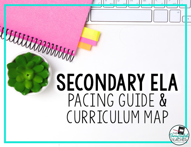 Secondary ELA curriculum guide for high school and middle school English language arts teachers