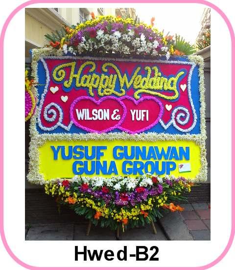 Kirim Bunga Happy Wedding ke Gedung Bidakara a6f6a6a689