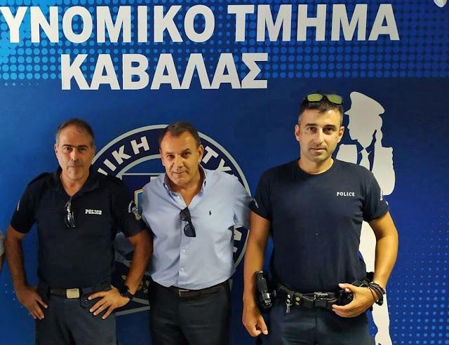 Παναγιωτόπουλος: Αυξάνεται το προσωπικό της Αστυνομικής Διεύθυνσης Καβάλας