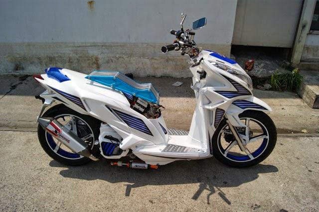 тюнинг скутер