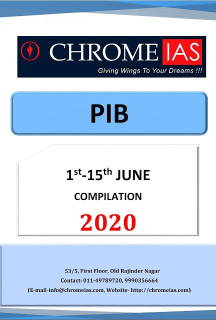 PIB Compilation June 2020 : For IAS Exam PDF Book