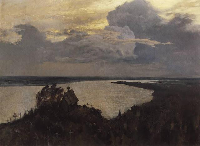 Исаак Ильич Левитан - Над вечным покоем. 1893-1894