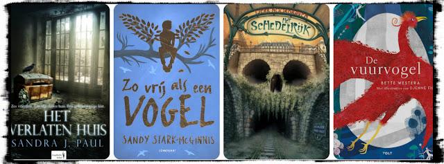 Het verlaten huis, Hamley Books, Sandy Stark-McGinnis, Lemniscaat, Tjerk Noordraven, Moon, Bette Westera, Volt