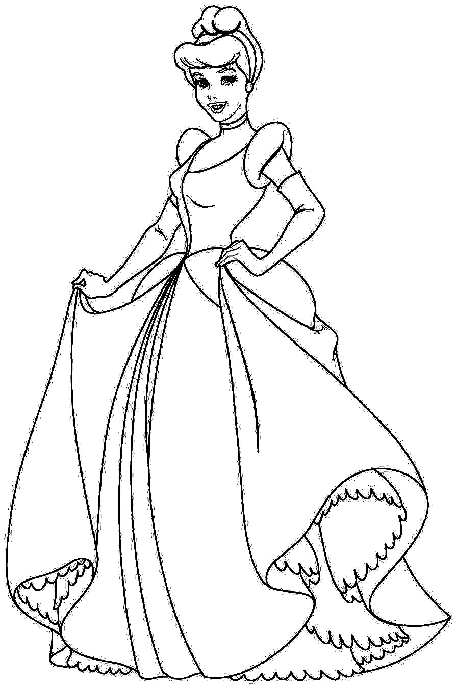 cinderealla coloring pages | Disney Coloring Pictures For Kids: December 2015