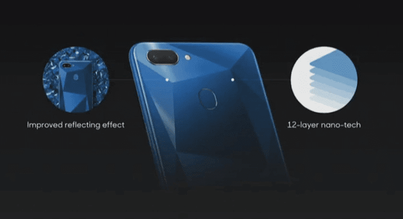 The design of Realme 2