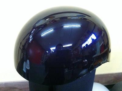 2114141480 - カスタムペイント工程  ダックテールヘルメット ブルーフレイムス