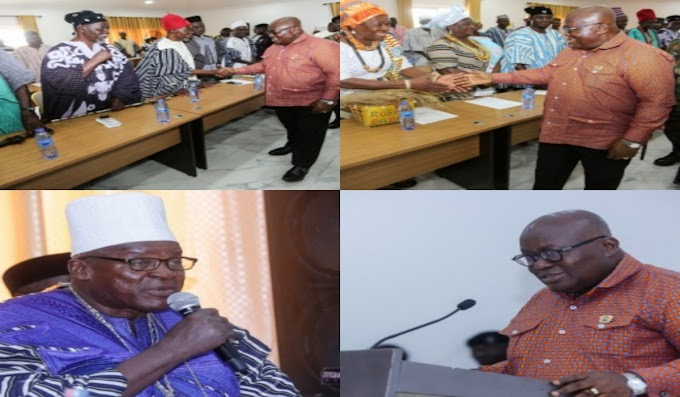 """We Are Proud Of You"" – Upper West Chiefs Tell President Akufo-Addo"