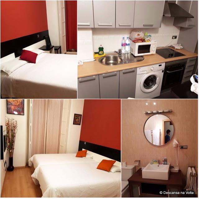 Apartamento no centro de Madri