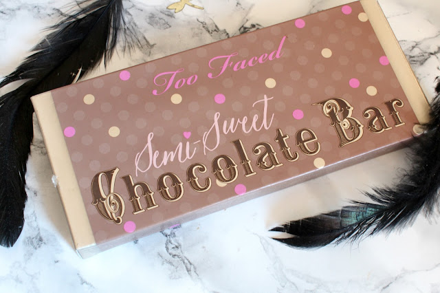 too faced chocolate bar semi sweet review and swatches
