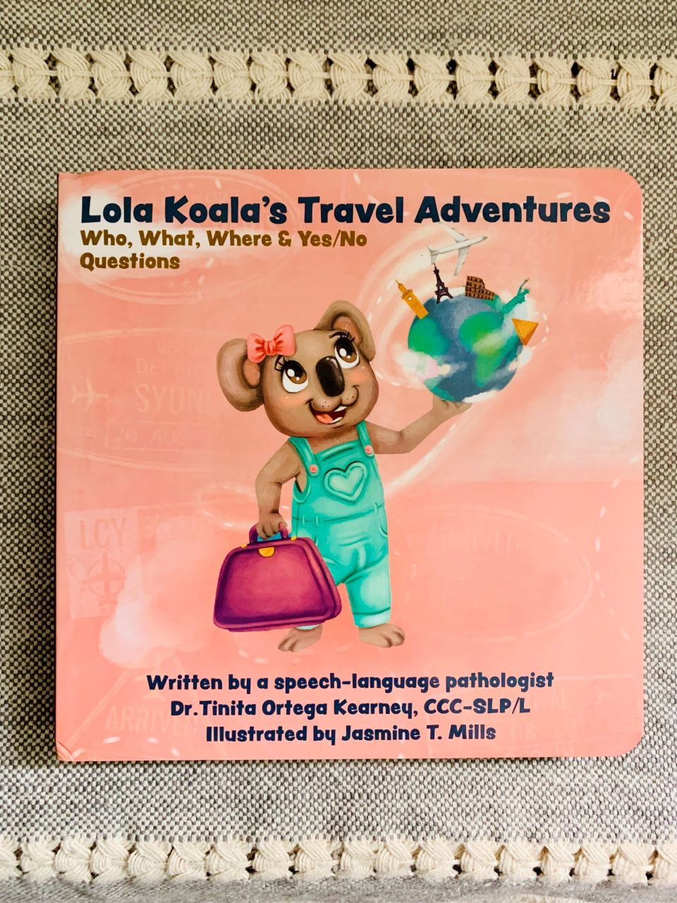 Lola Koala's Travel Adventures Book
