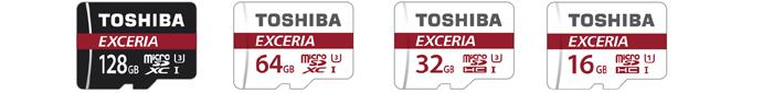 東芝 EXCERIA M302 microSDカード 全種類 128GB 64GB 32GB 16GB