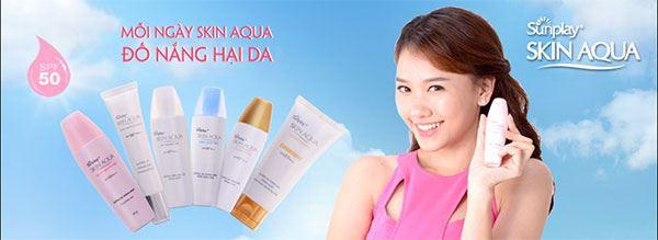 Skin Aqua dành cho da dầu