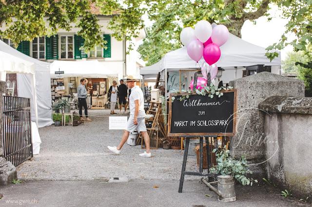 calkboard, markt im schlosspark