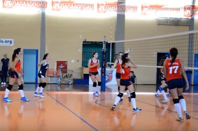 Νίκησαν οι νεανίδες του ΓΣΑ 3-0 σετ τον Οίακα (βίντεο)